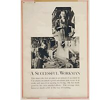 A successful workman Photographic Print