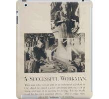 A successful workman iPad Case/Skin
