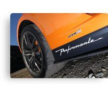 Lamborghini Gallardo LP570-4 Spyder Performante - Wheel Canvas Print