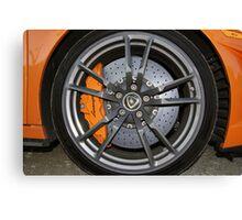 Lamborghini Gallardo LP570-4 Spyder Performante - Carbon Ceramic Brake Canvas Print