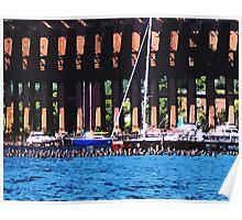 Harbor Docks Poster