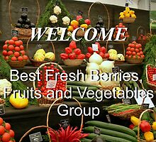 Banner for Best Fresh Berries, Fruits and Vegetables by AnnDixon