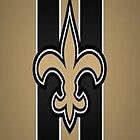 The New Orleans Saint's Famous Logo by ashleyschex