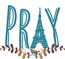 Pray for Paris by LadyDevil