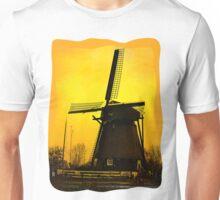 WindMill in Holland Unisex T-Shirt