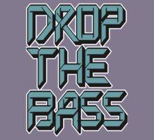 Drop The Bass (cyan) Kids Clothes