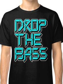 Drop The Bass (cyan) Classic T-Shirt
