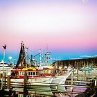 Moonrise over Coffs Harbour by Normf