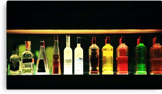 Bottles by Ruben D. Mascaro