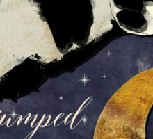 Cow Jumped Over The Moon Sticker