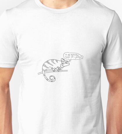 wannabe stand-up chameleon  Unisex T-Shirt