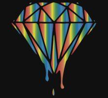 Dripping Diamond Rainbow by Inspire Store