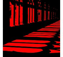 The Red Shadow Photographic Print