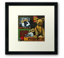 In the Attic - painting Framed Print
