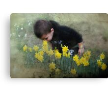 """Looking for Spring...."" Canvas Print"
