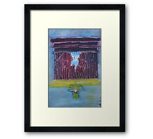 """Torn""  by Carter L. Shepard Framed Print"