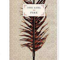 'The Girl on Fire' by A.J.  Hateley