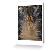 """""""Warrior Bride""""  by Carter L. Shepard Greeting Card"""