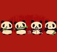 Robot Panda by Budi Satria Kwan