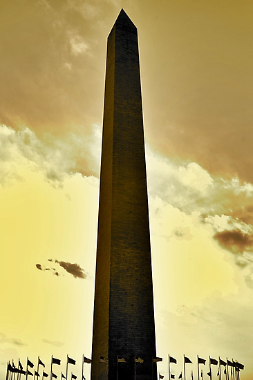 Washington Monument by Chad Eastman