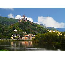 Cocham on the Mosel river - Germany Photographic Print