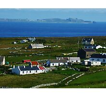 Cnoc Fola agus Inis Torai  Photographic Print