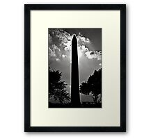 Washington Monument2 Framed Print