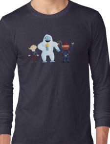 Yukon Bumble and Hermey Long Sleeve T-Shirt
