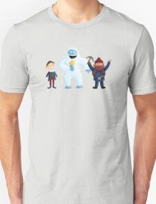 Yukon Bumble and Hermey Unisex T-Shirt