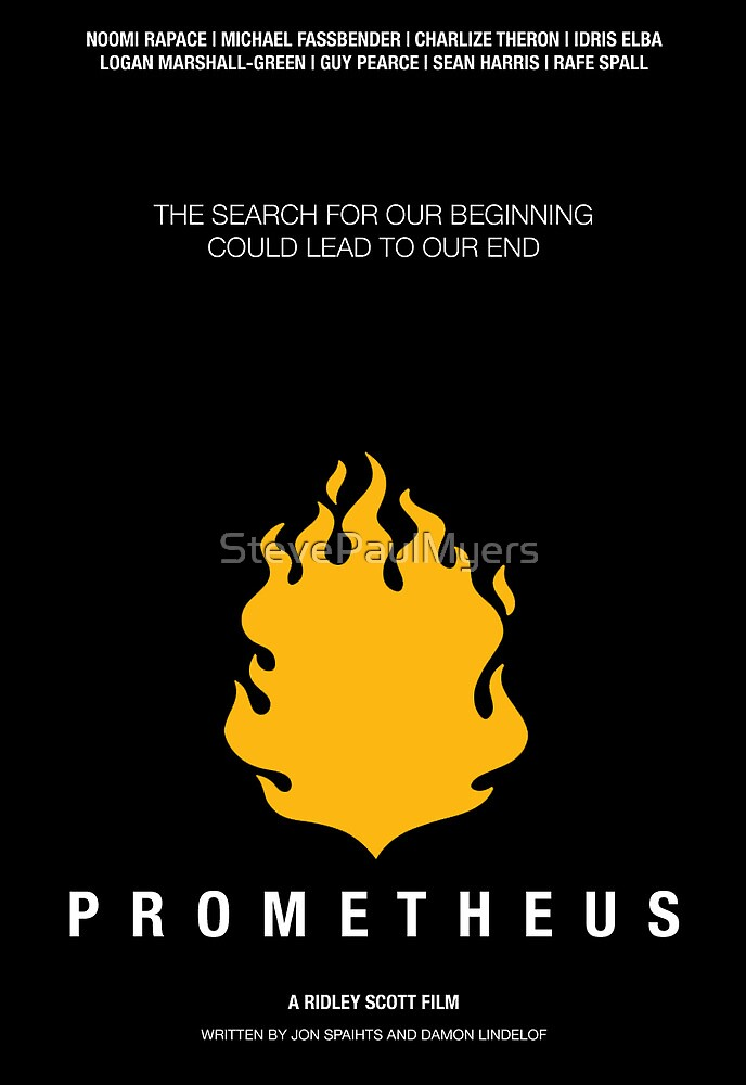 Prometheus Film Poster by StevePaulMyers
