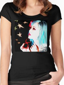 FREAK OUT Women's Fitted Scoop T-Shirt