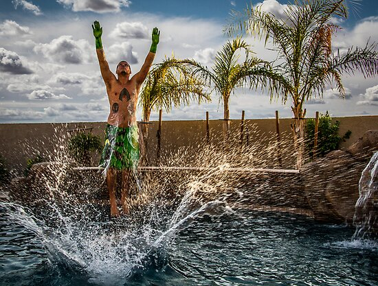 Aquaman Rises by Randy Turnbow