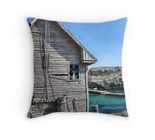 Home of Popeye the Sailor II Throw Pillow