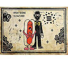 Ninja Brian's Burger Time High Score Photographic Print