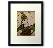 puppet with swords Framed Print