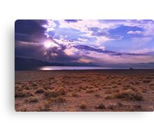 Lonely Sunrise Canvas Print