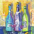 Wine Wine Wine by arline wagner