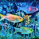 Tie-Dye Fish by arline wagner