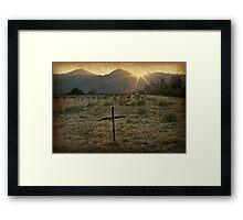 Last Rays of Sunshine Framed Print