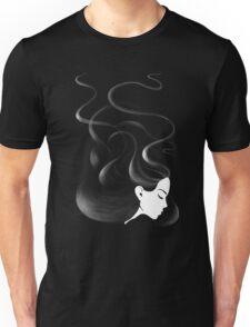 Black hair Unisex T-Shirt