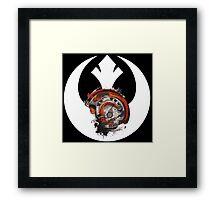 Born To Rebel - Star Wars Rebel Alliance Logo Framed Print
