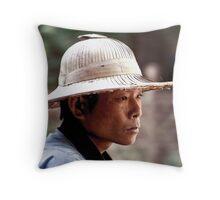 Thai Reflection Throw Pillow
