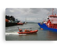 Lifeboat Rescue Canvas Print