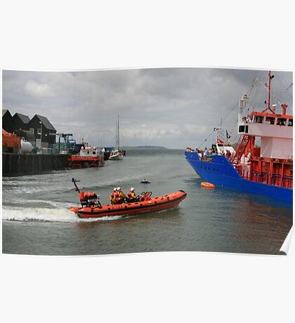 Lifeboat Rescue Poster
