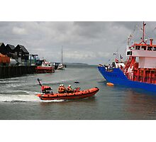 Lifeboat Rescue Photographic Print