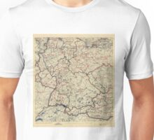 July 17 1945 World War II Twelfth Army Group Situation Map Unisex T-Shirt