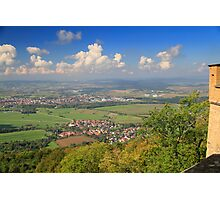 A view from Hohenzoler castel - Germany Photographic Print