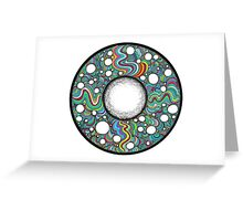 Bubble movement  Greeting Card