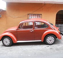Old Car on Mexican Street by elizabethtarde