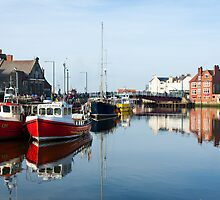 Whitby Harbour by Neil Clarke